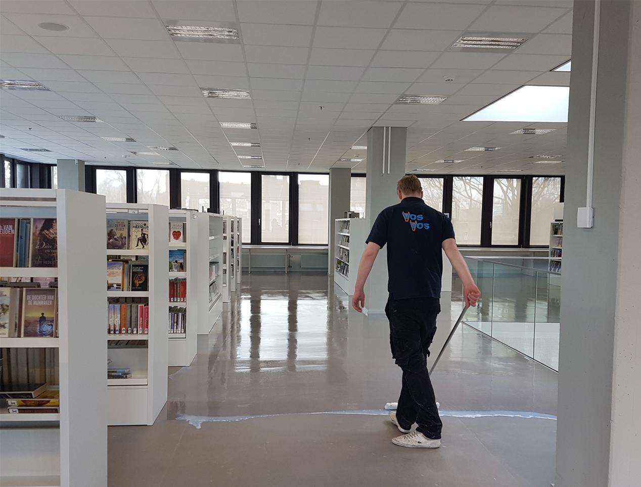 schoonmaak bibliotheek zwolle